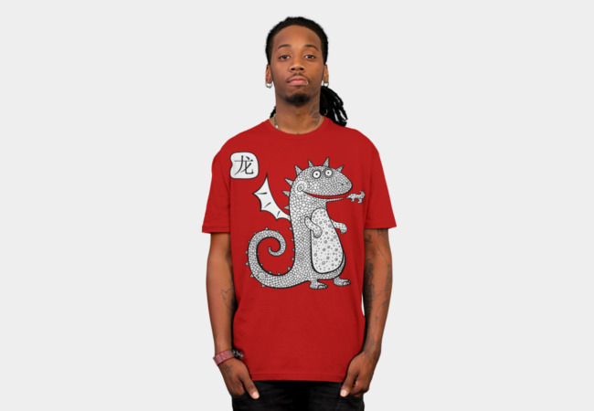 Cartoon dragon. T-Shirt - Design By Humans