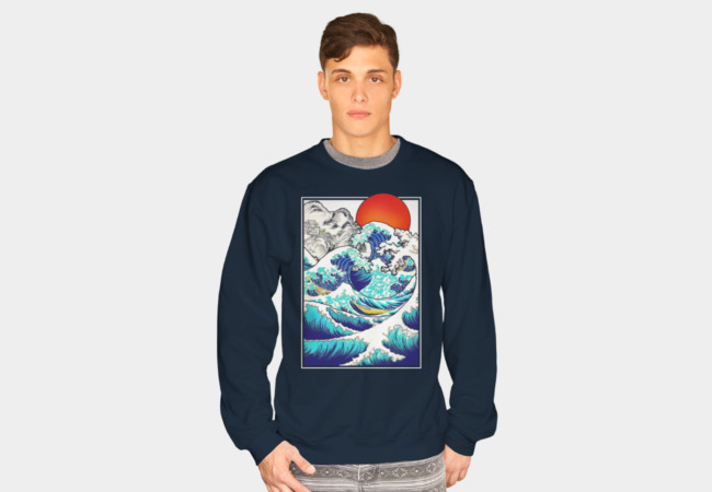 Asian Tides (Version 2) Sweatshirt - Design By Humans
