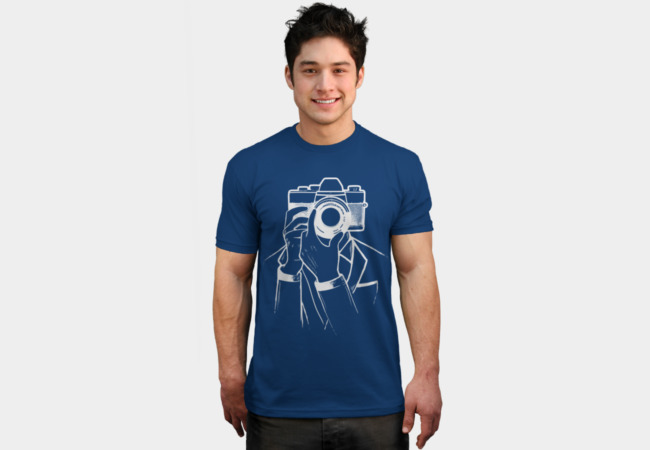 Selfie Shot T-Shirt - Design By Humans