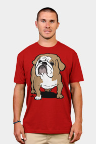 English Bulldog cartoon dog shirt