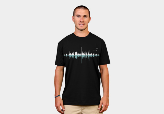 Music City (Clear Graphic) T-Shirt - Design By Humans