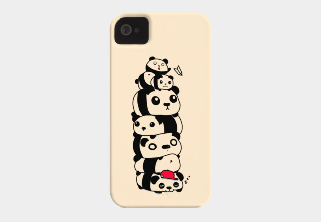 Stack of Pandas Phone Case - Design By Humans