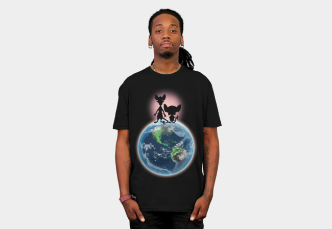 Take Over The World! T-Shirt - Design By Humans