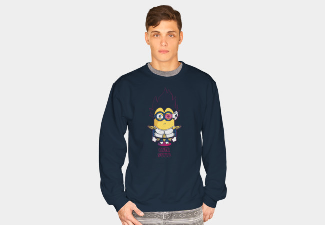 Over 9000 Sweatshirt - Design By Humans