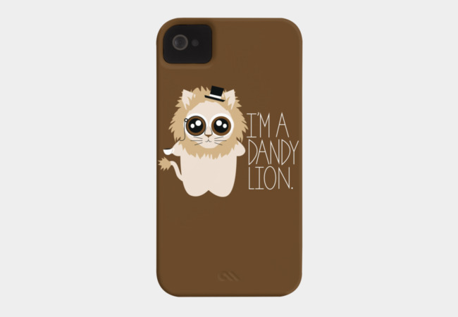 Dandy Lion Phone Case - Design By Humans