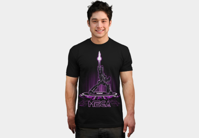MEGA (TRON) T-Shirt - Design By Humans