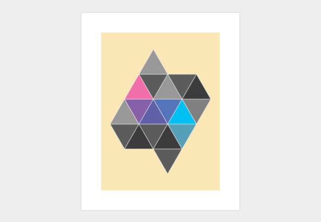 Polygon #3 Art Print - Design By Humans