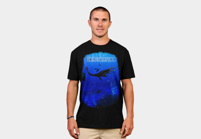 Out of Depth: Believe T-Shirt - Design By Humans