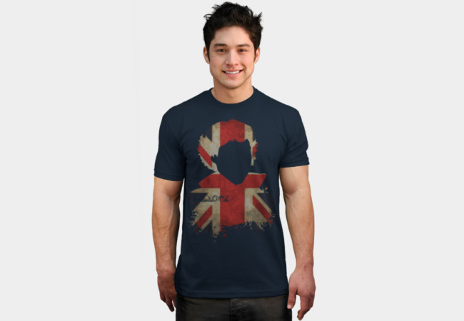 Sherlockian Union Jack T-Shirt - Design By Humans