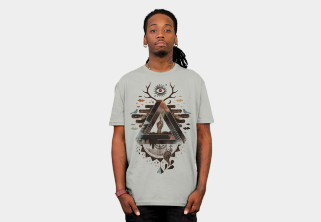 All Impossible Eye T-Shirt - Design By Humans