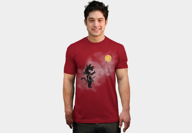 Saiyan with Balloon T-Shirt - Design By Humans