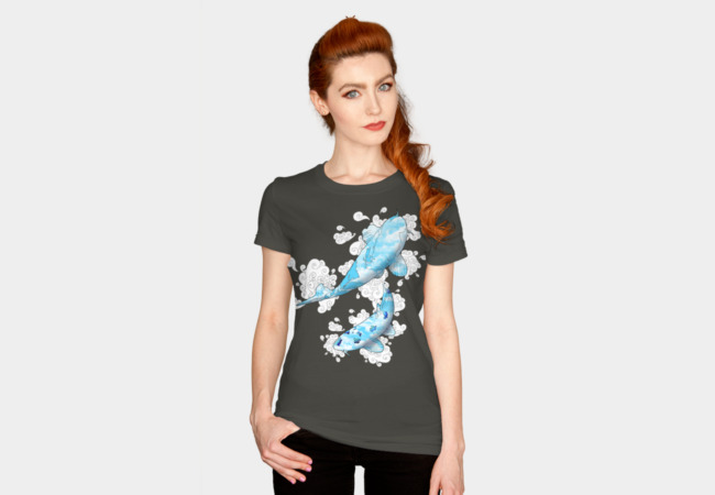 Koi in Heaven T-Shirt - Design By Humans