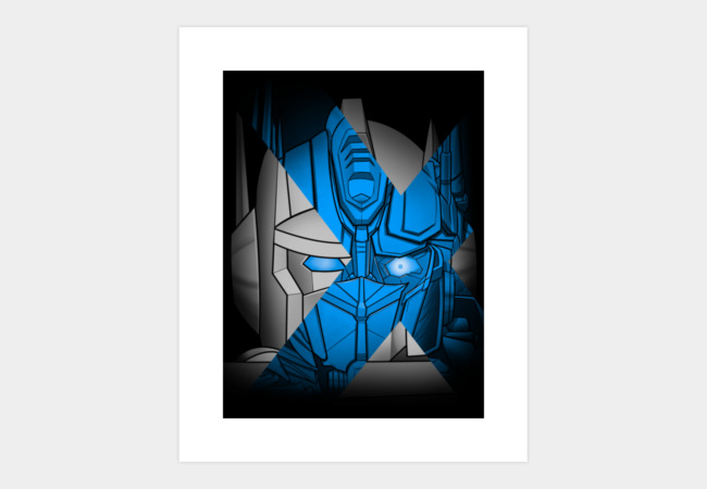 Optimus - Generations of Future Past Art Print - Design By Humans