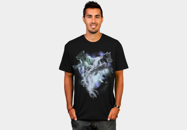 WOLF MELODIES T-Shirt - Design By Humans