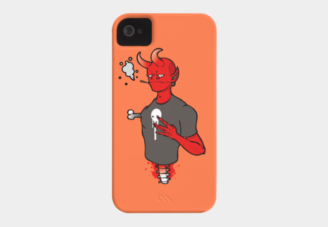 West Side Demon Phone Case - Design By Humans