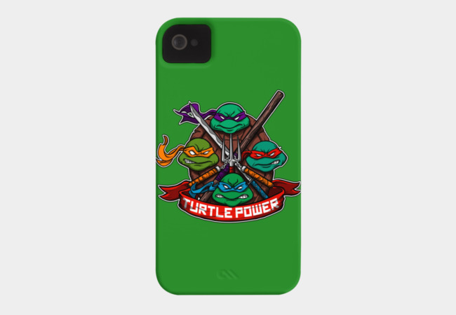 Turtle Power! Phone Case - Design By Humans