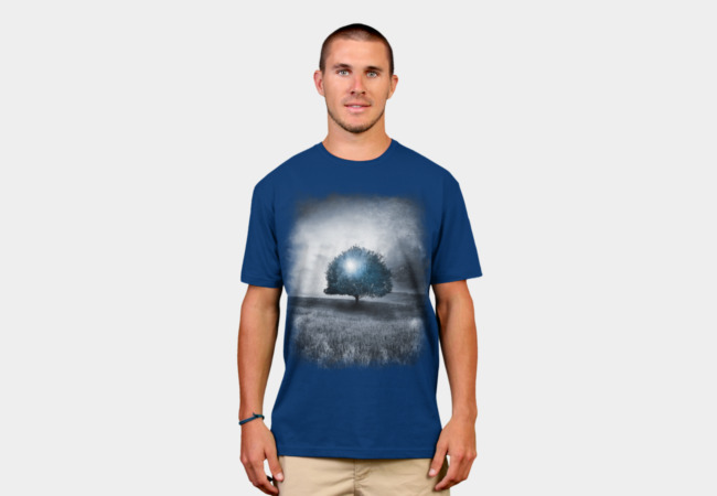 Energy from the blue tree T-Shirt - Design By Humans
