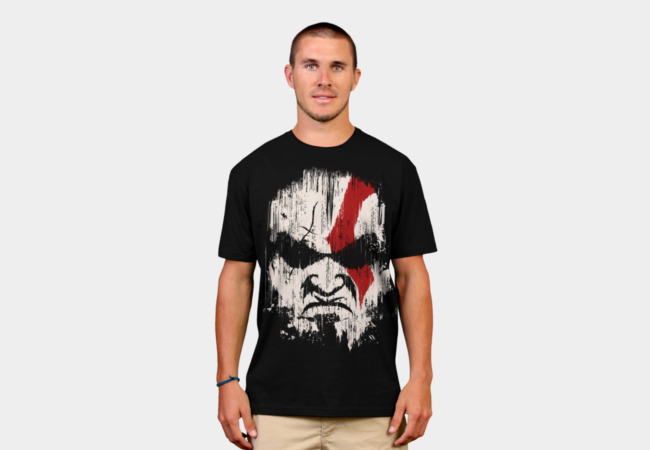 Kratos T-Shirt - Design By Humans