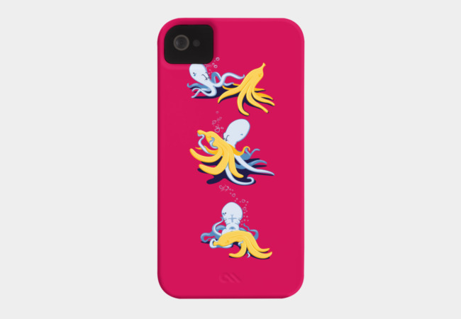 tentacles and peelings Phone Case - Design By Humans