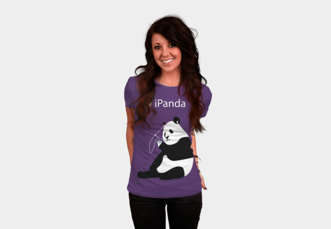 ipanda T-Shirt - Design By Humans