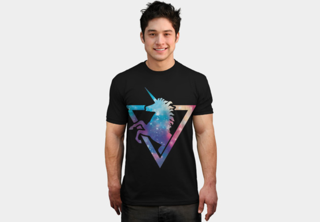 Galaxy Unicorn T-Shirt - Design By Humans
