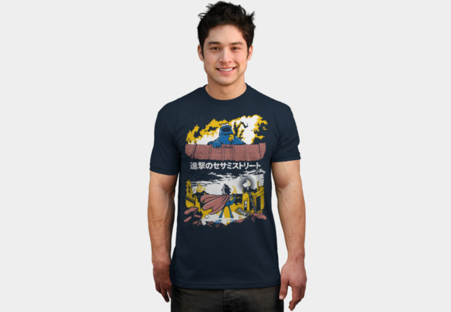 Attack on S. Street T-Shirt - Design By Humans