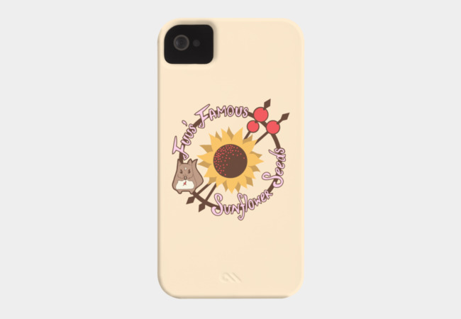 Fuu's Famous Sunflower Seeds Phone Case - Design By Humans