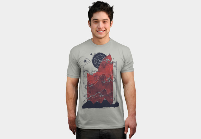 Northern Nightsky T-Shirt - Design By Humans