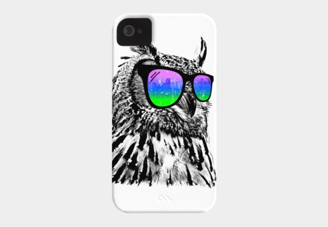 Cool Owl Phone Case - Design By Humans