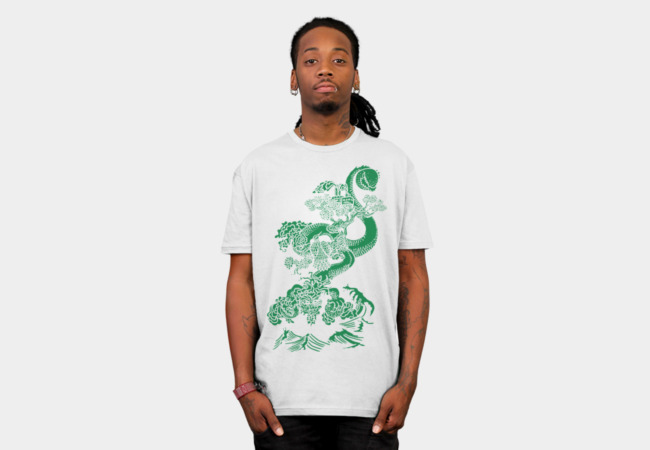 Shen Lung (green) T-Shirt - Design By Humans