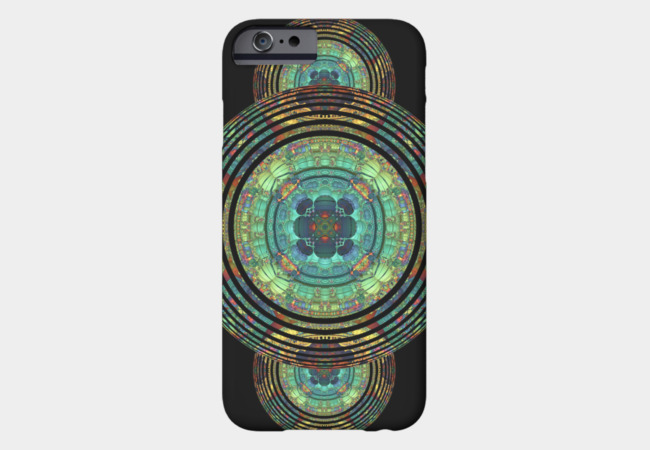 Rippled Mandala Phone Case - Design By Humans