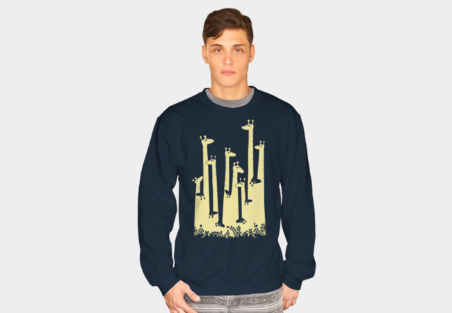 Giraffe Double Vision Sweatshirt - Design By Humans