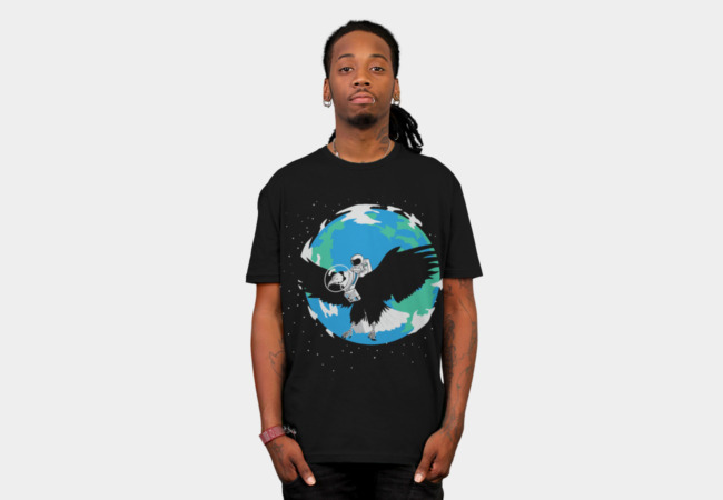 The Eagle has landed T-Shirt - Design By Humans