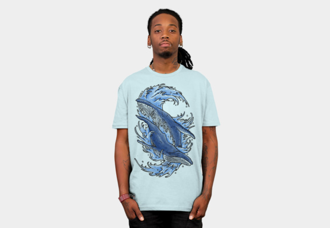 humpback T-Shirt - Design By Humans