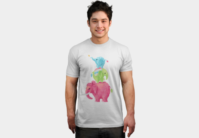 Elephants T-Shirt - Design By Humans