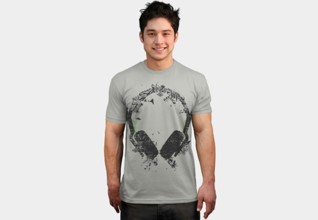 Art Headphones V2 T-Shirt - Design By Humans