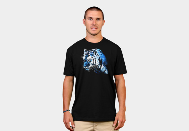 Spectral tiger T-Shirt - Design By Humans