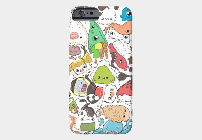 Sushi Bar: The point of Nori-turn Phone Case - Design By Humans