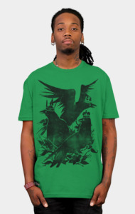 Crowned Crow T-Shirt