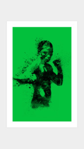 Knock Out And Never Tap Out Art Prints