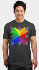 Geometric Color Wheel
