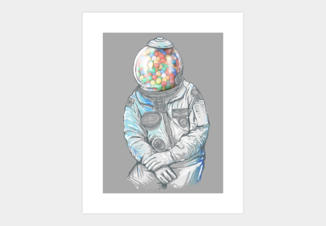 Gumballs Art Print - Design By Humans