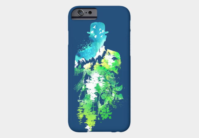 Garden of Verses Phone Case - Design By Humans