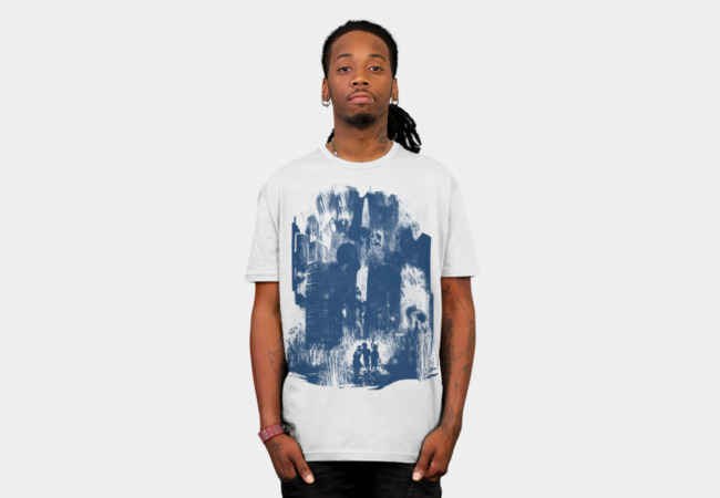 escape from rain city T-Shirt - Design By Humans