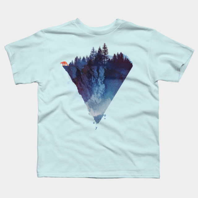 Near To The Edge T Shirt By Astronautarc Design By Humans