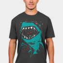 ozzycow wearing Shark with pixelated teeth! by gloopz