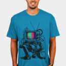Remenance wearing Retro TV Colour Test Man by LukeBatten