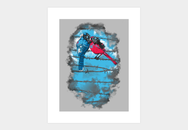 FRESH AIR Art Print - Design By Humans
