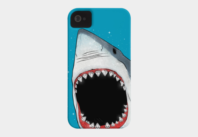Diamonds Are a Shark's Best Friend Phone Case - Design By Humans