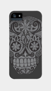 Calavera III Phone Cases